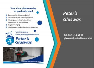 Peters Glaswas